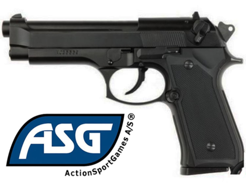 Réplique Airsoft ASG M9 Heavy Weight gaz GBB